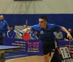 אירועים - אליפות ישראל טניס שולחן זוגות - אביב גורדון