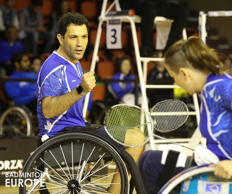אמיר לוי - מדליית כסף באליפות אירופה 2018 - יחידים וזוגות גברים