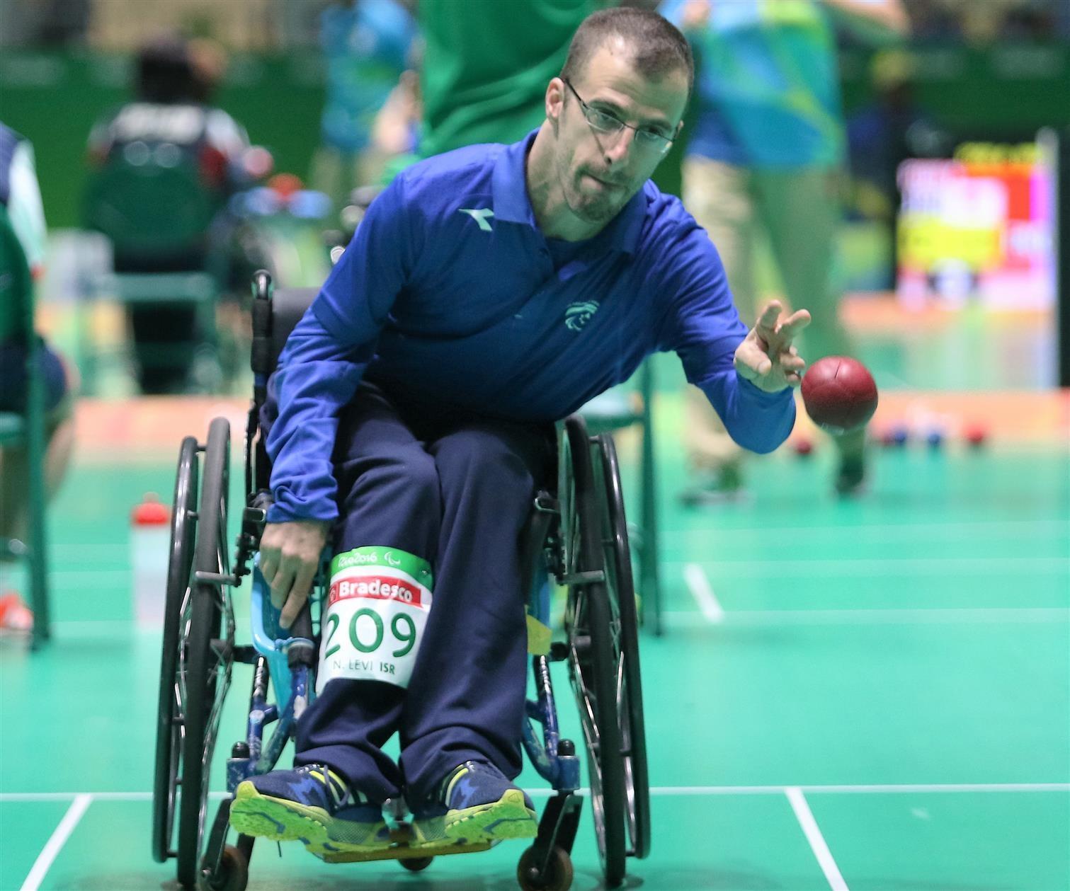 נדב לוי - השתתפות במשחקים הפראלימפים ריו 2016