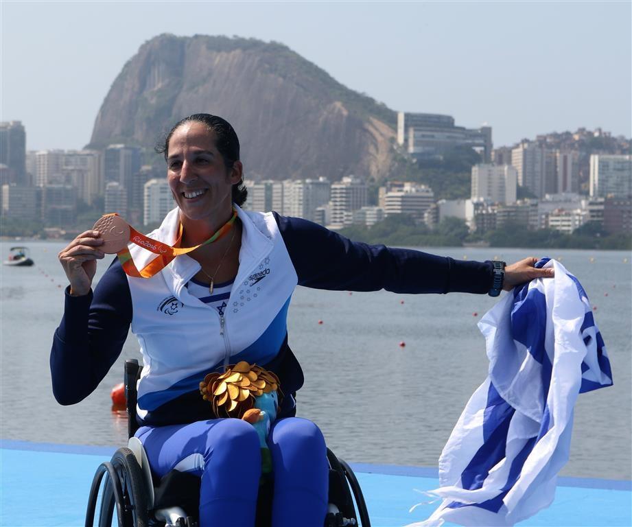 מורן סמואל - מדליית ארד במשחקים הפראלימפים בריו - 2016