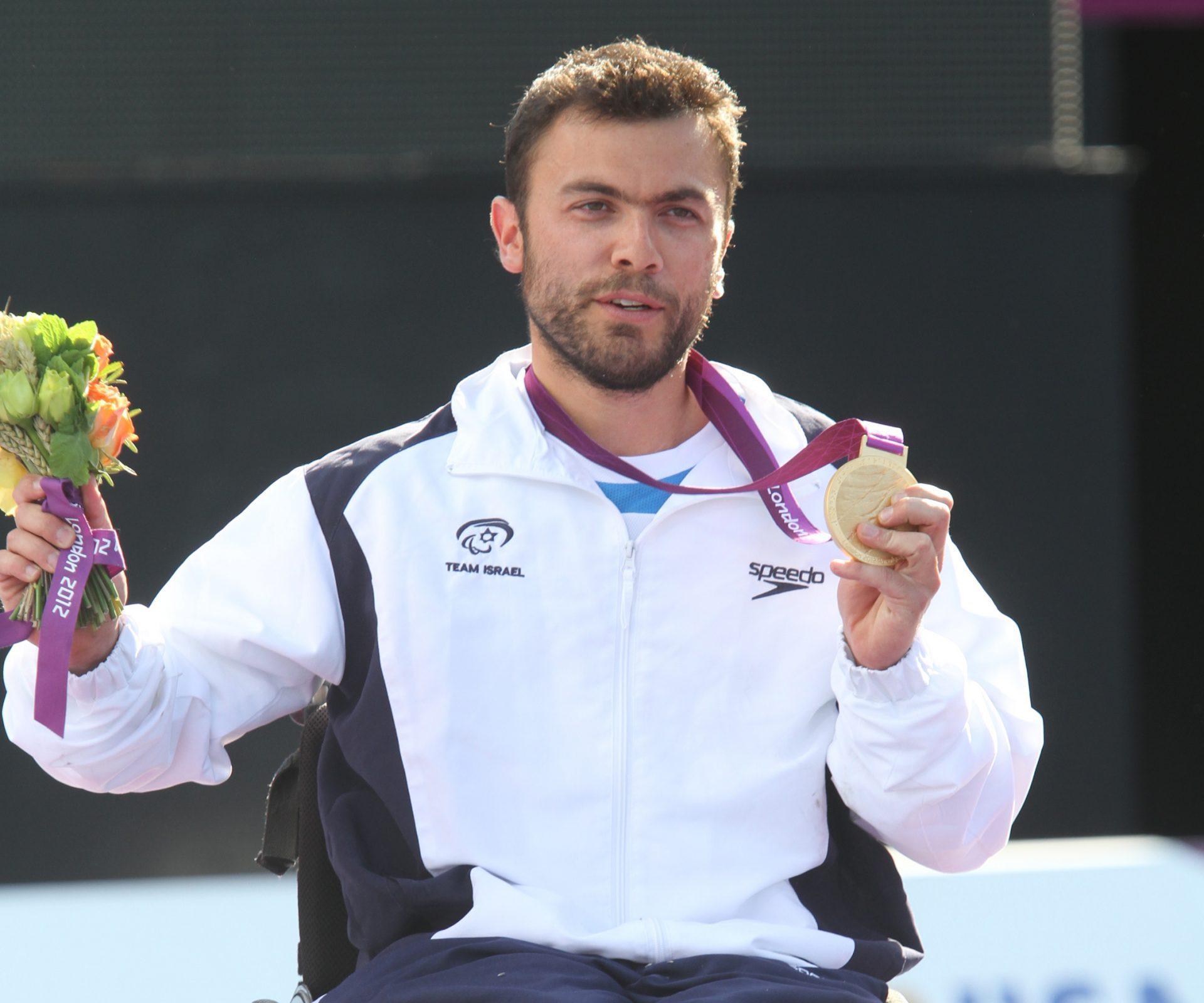 מדליית זהב במשחקים הפרלימפים 2012