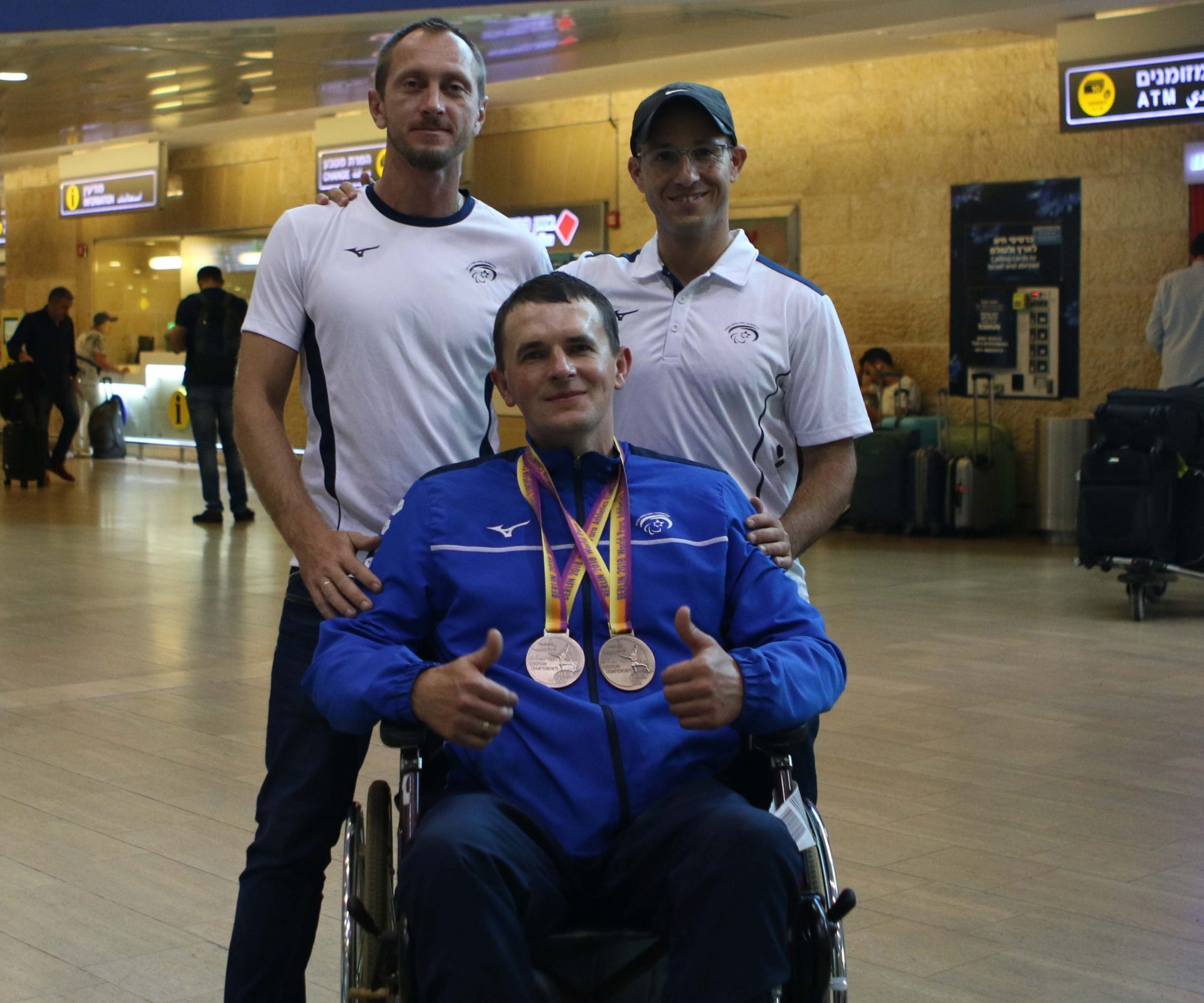 אלכסנדר אלכסיינקו - 2 מדליות ארד בהדיפת כדור ברזל והטלת כידון - אליפות אירופה 2018