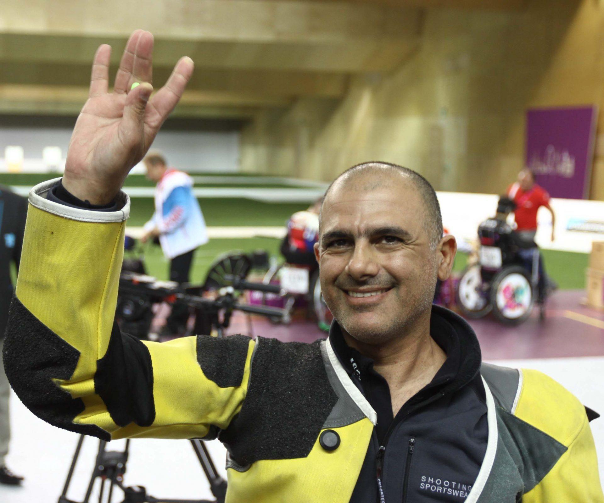 דורון שזירי - מדליית כסף המשחקים הפראלימפים לונדון 2012