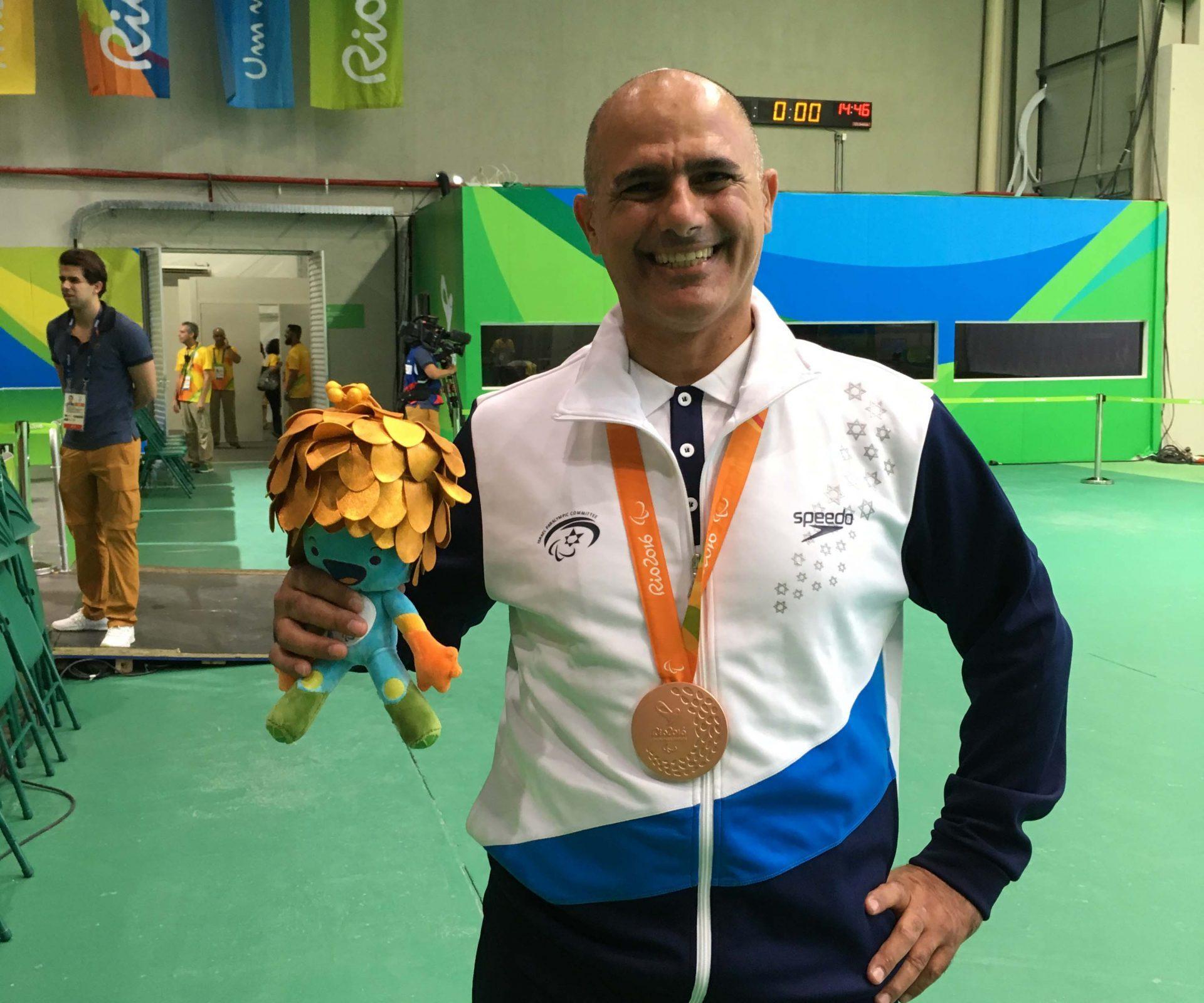 דורון שזירי - מדליית ארד המשחקים הפראלימפים ריו 2016