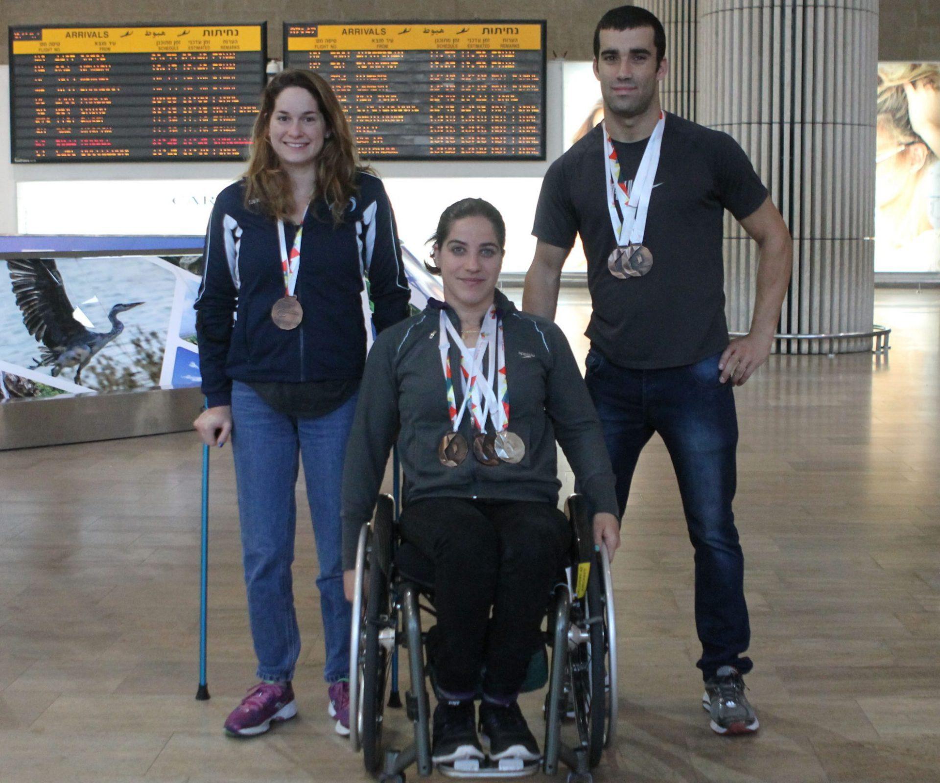 אראל הלוי ויואב ולינסקי זוכים במדליות ארד, ענבל פיזרו זוכה במדליות ארד ומדליית כסף באליפות אירופה 2016