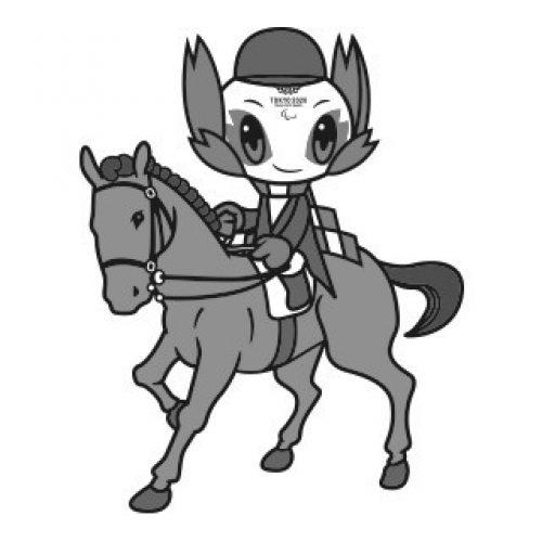 רכיבה על סוסים-שחורלבן